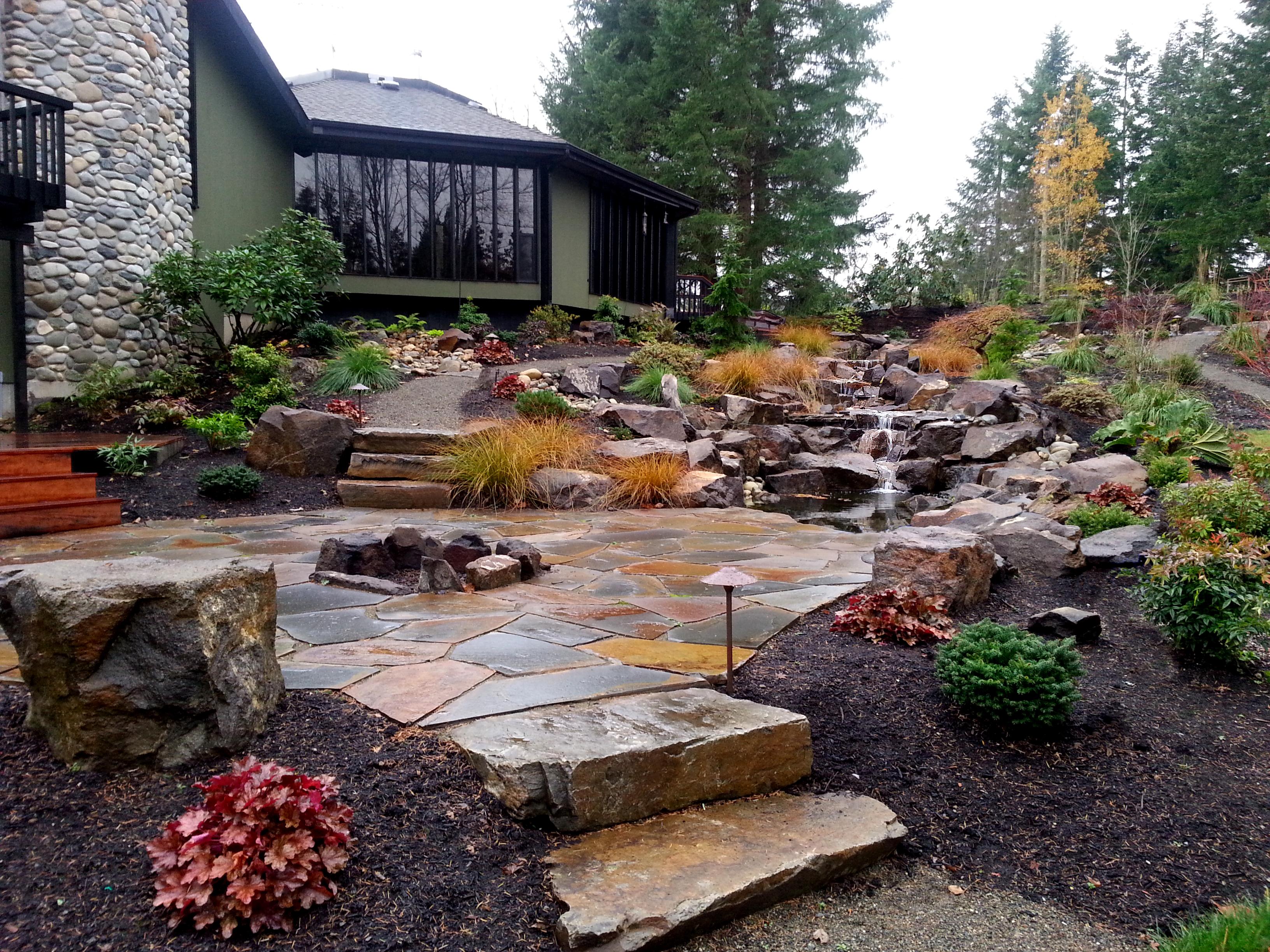 snohomish sandset montana flagstone patio - Flagstone Patio Designs